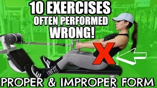 Скачать 10 EXERCISES OFTEN DONE WRONG Proper Improper Form