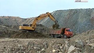 Вблизи Змеиногорска начали добывать золото