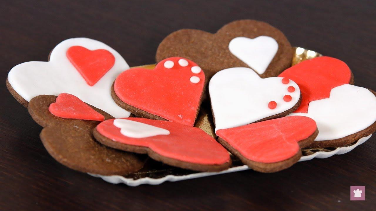 Biscotti di san valentino youtube for Pensierini di san valentino