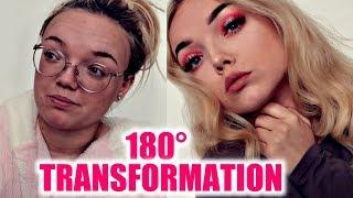 0 to 100 transformation | Power of Makeup | Erika