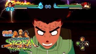 NARUTO Shippuden: Ultimate Ninja STORM REVOLUTION - Rock Lee vs Gaara