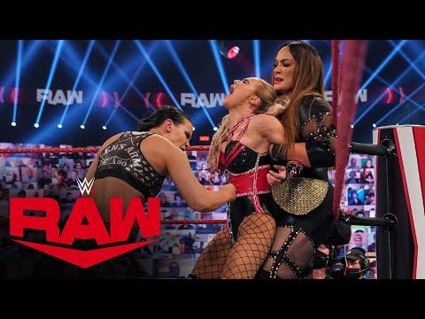 Asuka & Lana vs. Nia Jax & Shayna Baszler: Raw, Nov. 30, 2020