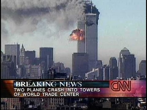 Live Coverage - CNN (08:48am-10:53am) - September 11th 2001