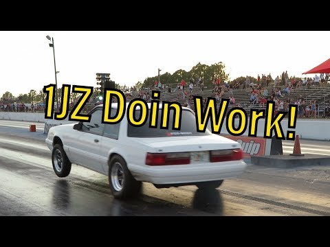 Cleetus And Cars! 1JZ Fox Body Doin Work!😂