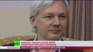 Swedish prosecutors drop case on Julian Assange
