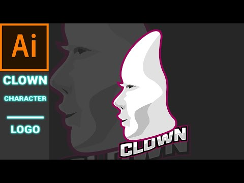 Illustrator Tutorial  Draw Clown Character in Illustrator CC thumbnail