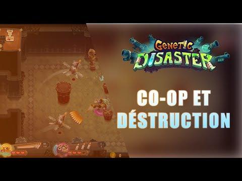 GENETIC DISASTER : Co-op et déstruction