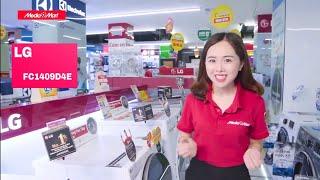 Mua Máy Giặt Nào Tốt ? Cùng đánh giá MG 9Kg LG FC1409D4E Sấy Inverter, tại Mediamart Cẩm Khê Phú Thọ