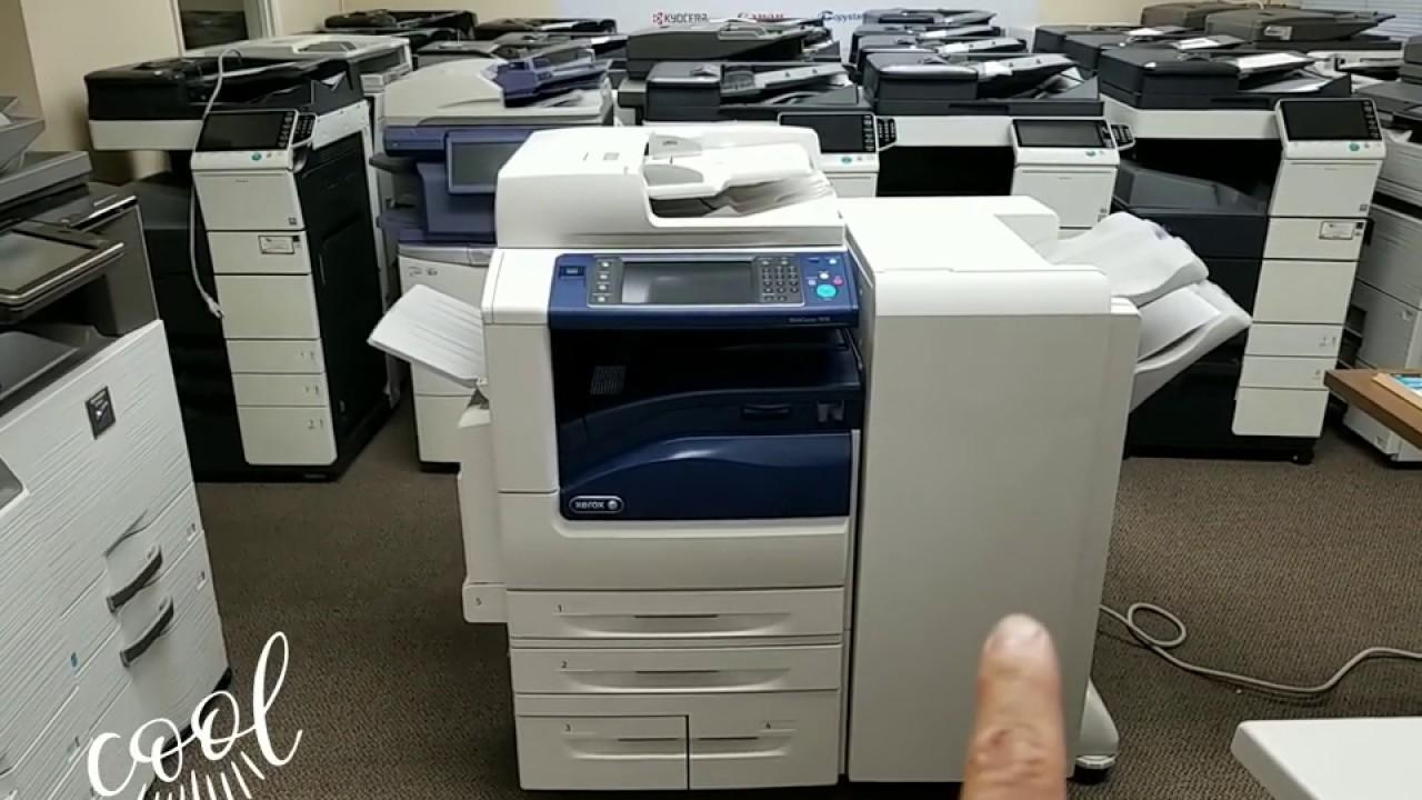 Xerox WiekCentre 7970-Meter only 3k