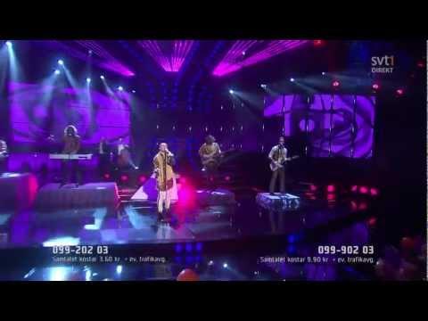 The Moniker - I Want To Be Chris Isaak (Live Melodifestivalen 2012 semi)