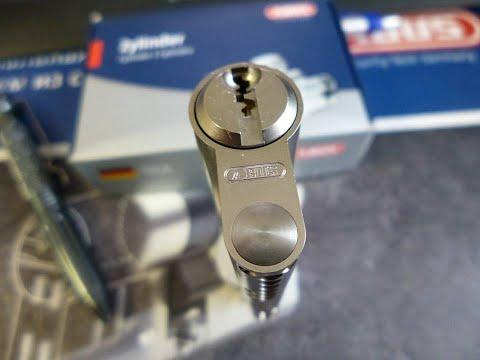 Как разобрать цилиндр замка