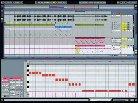 Making Kid Cudi Vs Crookers - Day 'N' Nite in Ableton Live