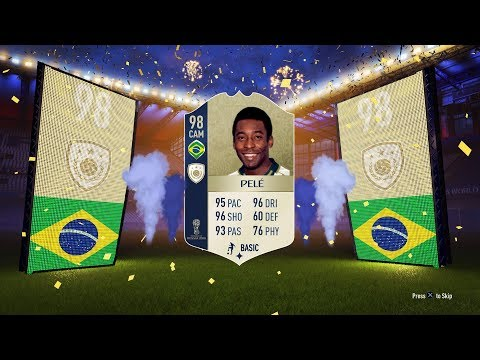 FIFA 18 | OMG I PACKED 98 ICON PELE | WORLD CUP 2018 PACK OPENING