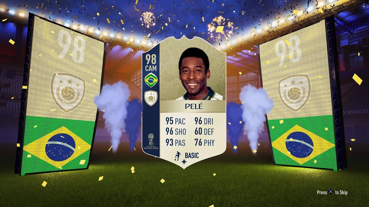 Fifa  Omg I Packed  Icon Pele World Cup  Pack Opening