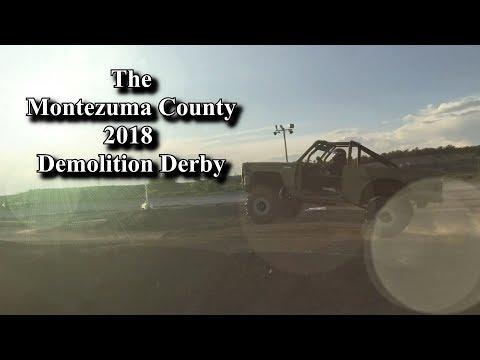 Montezuma County Fair, 2018 Demolition Derby