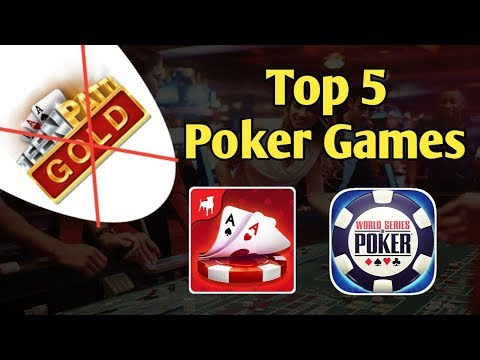 Top 5 Free Poker Games For Android || Best Poker Games In 2019
