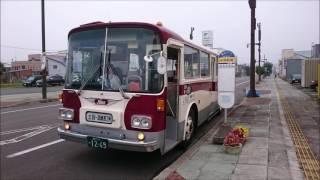 【バス走行音】 士別軌道 82009号車 K-RC301P 中多寄線 30線西3号→士別駅前