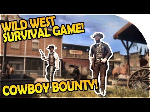 OPEN WORLD WILD WEST SURVIVAL GAME - COWBOY BOUNTY HUNTING - Wild West Online Gameplay (WWO Game)