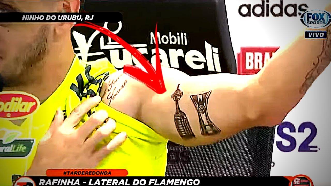 Rafinha Faz Tatuagens Incríveis E Manda Recado Pro Liverpool