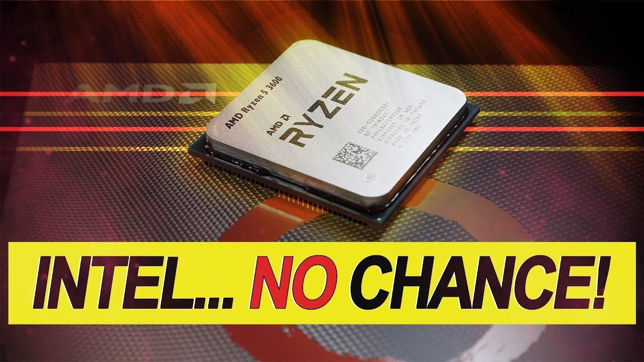 INTEL has NO CHANCE against THIS! -- AMD Ryzen 5 3600