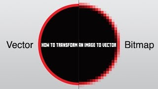 How to convert image to vector file (png, jpg, bmp, etc)