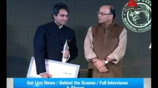 DNA:  Sudhir Chaudhary awarded for Excellence in Journalism at 8th Ramnath Goenka Awards