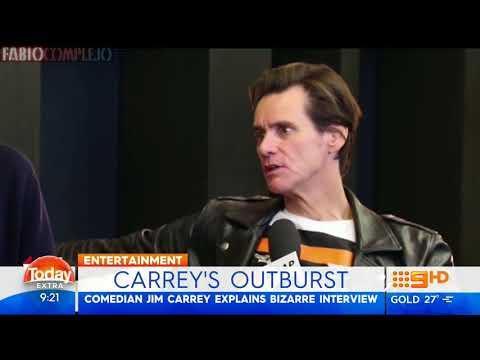"""Jim Carrey explica su última """"bizarra"""" entrevista (2017) Fabiocomplejo"""