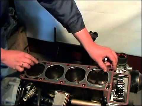 Собираем двигатель ЗМЗ 406.10 Волговский 2 часть.mp4