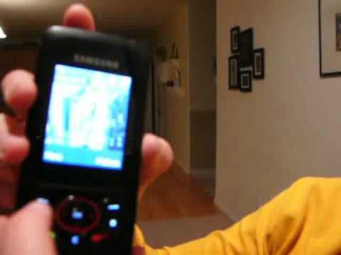 Samsung Blast Phone Demo