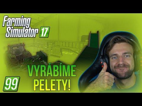 VYRÁBÍME PELETY! | Farming Simulator 17 #99 thumbnail