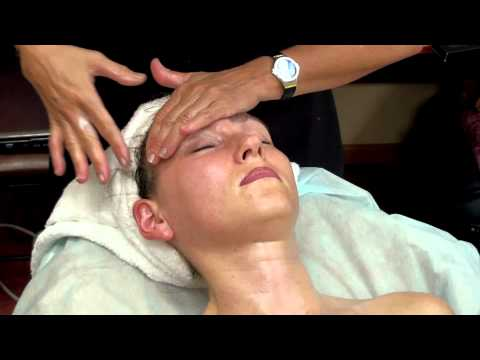 Видео массаж лица косметология обучение