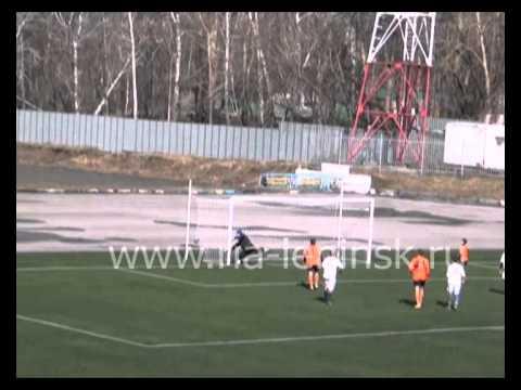 Футбольный матч команд «Телеком» и «Заря-СУЭК»