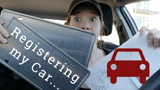 Registering A Car | What You Need To Know