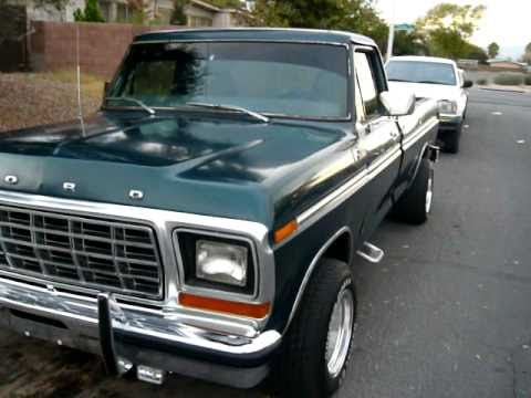 Ford Ranger Tuning >> Ford f100 1979 - YouTube