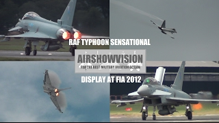 EUROFIGHTER TYPHOON (RAF) FGR4 DEMO - FARNBOROUGH 2012 (airshowvision)