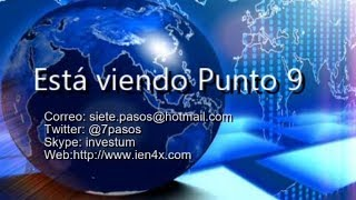 Punto Nueve - Noticias Forex del 29 de Julio 2019