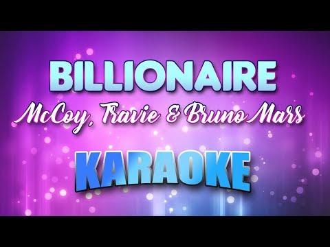 McCoy, Travie & Bruno Mars - Billionaire (Karaoke & Lyrics)