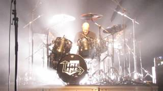 the chris slade timeline acdc drummer drum solo