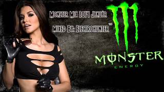 Monster Mix 2014 Január mixed by Electrohunter™