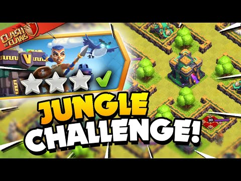 Easily 3 Star the Epic Jungle Challenge (Clash of Clans) - Judo Sloth Gaming