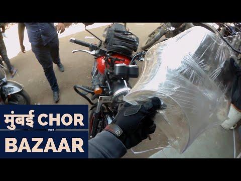 Chor Bazaar Mumbai | Himalayan Visor on Thunderbird X | DBS VLOGS