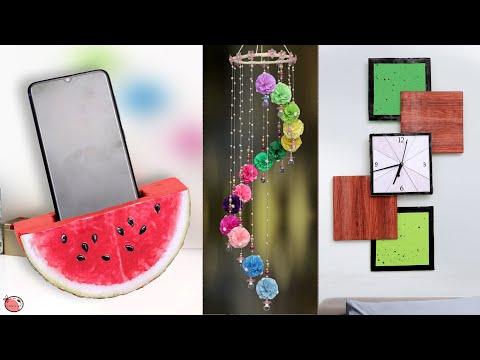 DIY Room Decor! 10 Easy Craft Ideas at Home