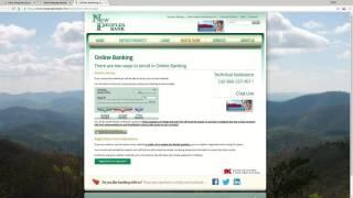 New Peoples Bank Online Banking Login Tutorial