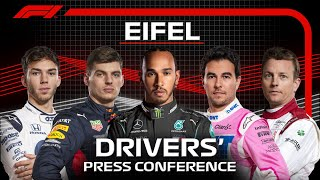 2020 Eifel Grand Prix: Drivers' Press Conference Highlights