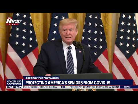 COVID-19 RESPONSE: President Trump answers media questions about Coronavirus, China & more