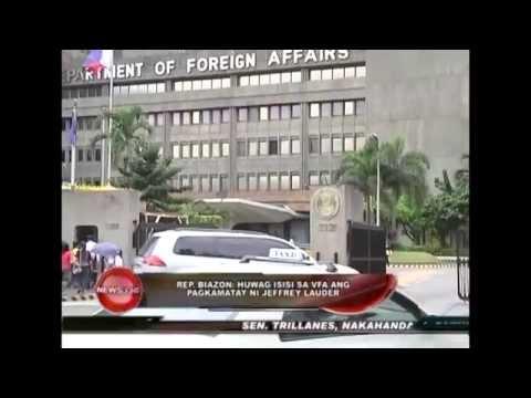 Rep. Biazon on blaming VFA in Laude's case