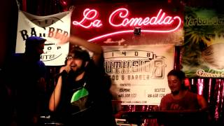 Resumen+Bad Boys - RUBENBE backed by BRAND NEW BRAINS (Directo Sala La Comedia)