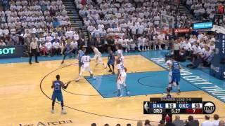 Dallas Mavericks vs Oklahoma City Thunder. Game #2. PlayOffs NBA 2016