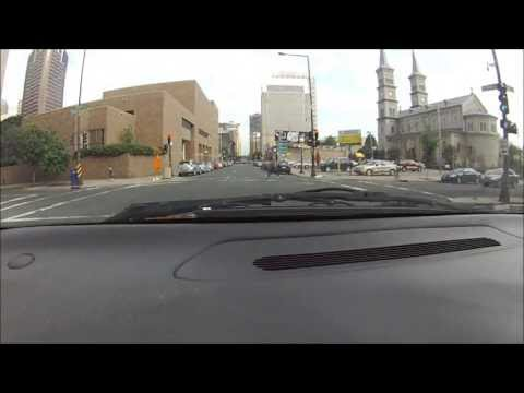 Driving Around St. Paul, Minnesota (fast motion)