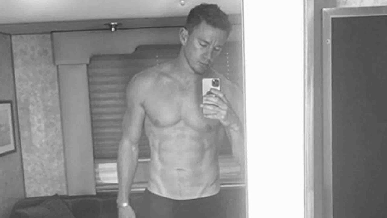 Channing Tatum's Ripped Bod In Shirtless Selfie